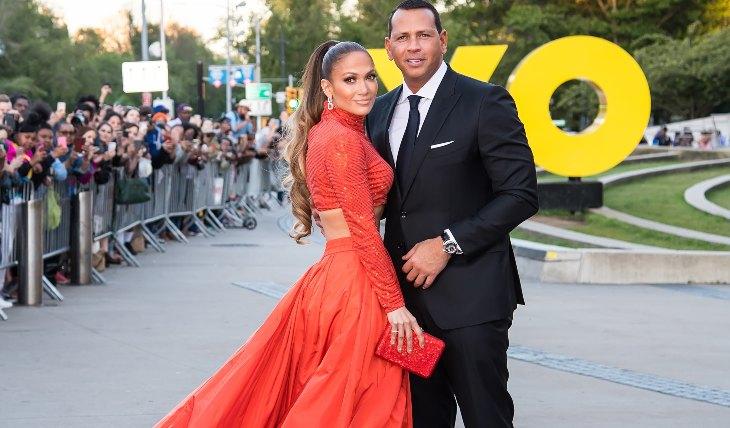 Jennifer Lopez y Alex Rodríguez. Foto: Getty Images