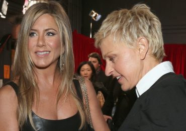 Jennifer Aniston, Ellen DeGeneres. Foto: Getty Images