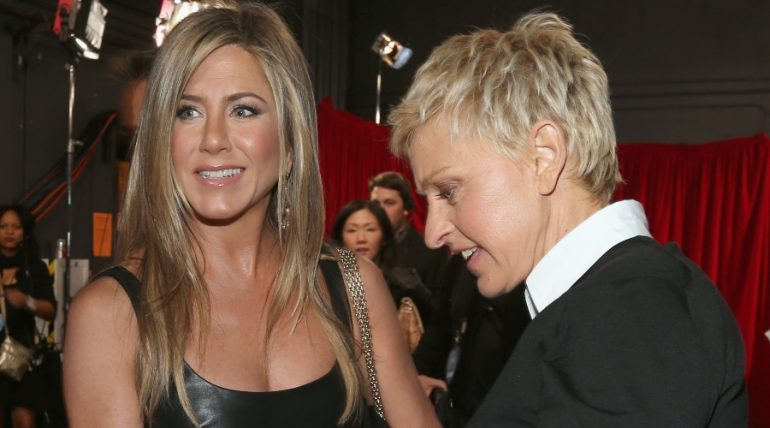 Jennifer Aniston, Ellen DeGeneres. Foto: Getty Images