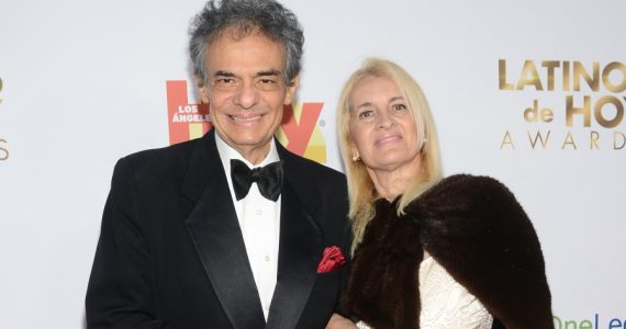 José José, Sara Salazar. Foto: Getty Images