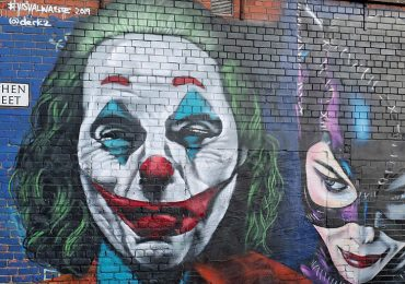 Mural del Joker | Foto: Getty Images