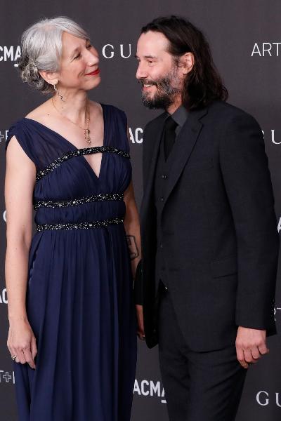 Keanu Reeves y Alexandra Grant. Foto: Getty Images