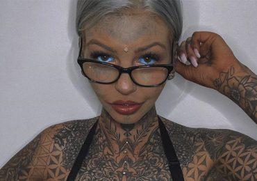 Influencer se tatúa los ojos y pierde la vista por varias semanas - Captura Instagram: @amber__luke
