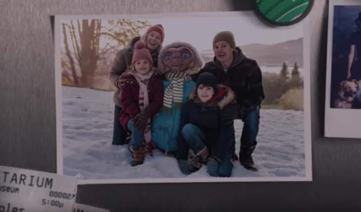 E.T. y Elliot. Foto: Captura de video