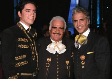 Alex, Vicente y Alejandro Fernández. Foto: Getty Images