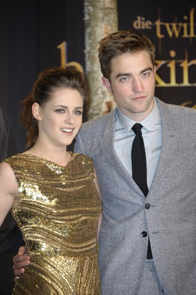 Kristen Stewart y Robert Pattinson. Foto: Getty Images