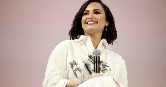 Demi Lovato causa polémica al subir una foto de supuesto embarazo - Getty