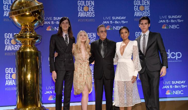 Embajadpres y presentadores de los nominados a los Golden Globes. Foto: Getty Images