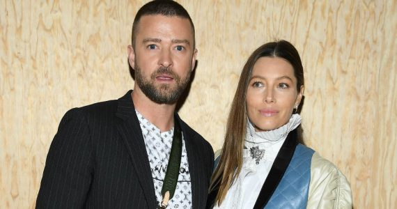 Justin Timberlake y Jessica Biel. Foto: Getty Images