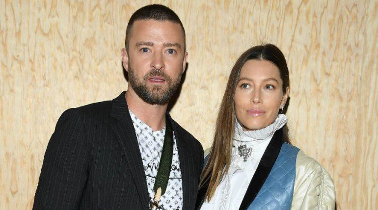 Justin Timberlake y Jessica Biel. Foto: Getty Images